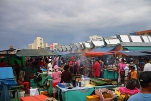 Filipino Market in Kota Kinabalu Malaysia