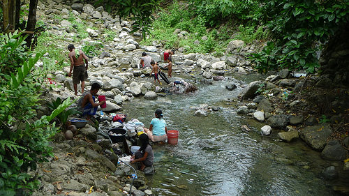 river in Nabas Aklan