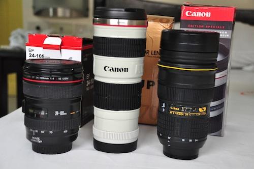 win camera lens mugs thermos