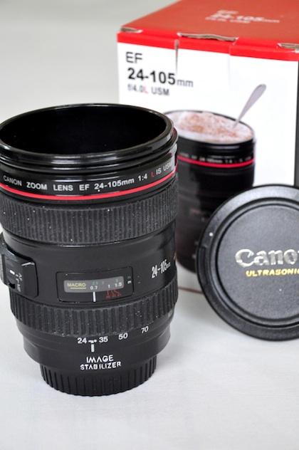 Canon 24-105mm Lens Mug Coffee Cup