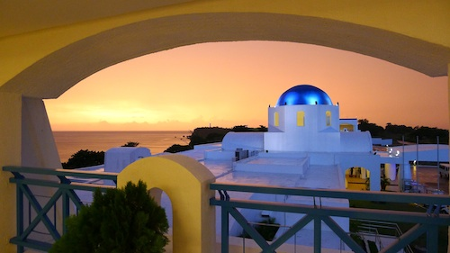 Sunset Thunderbird Poro Point