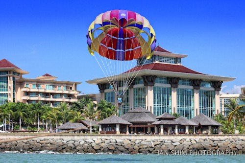 Parasailing or Jetskiing at Empire Hotel & Country Club in Jerudong
