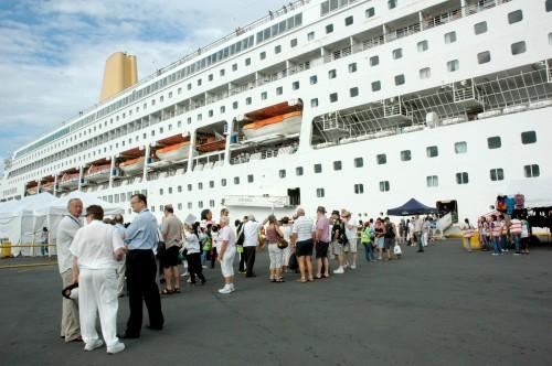 British World Cruise Ship Oriana arrives in Manila