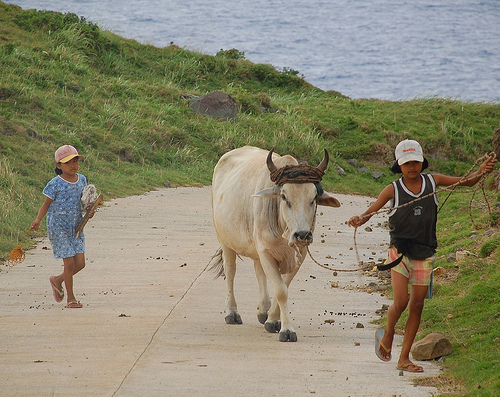 Kids in Sabtang Island