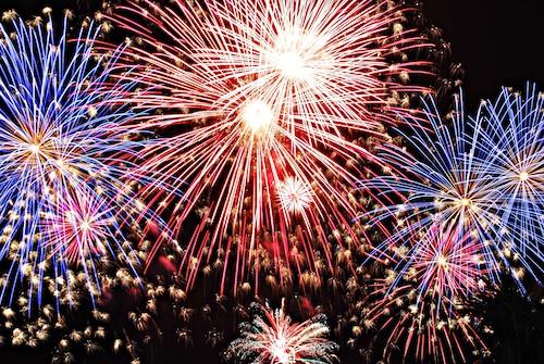 spain fireworks in pyromusical