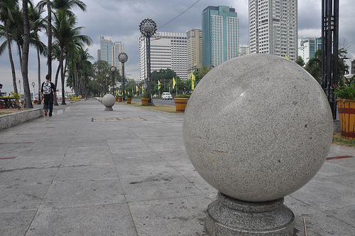 Manila's Famous Bay Walk