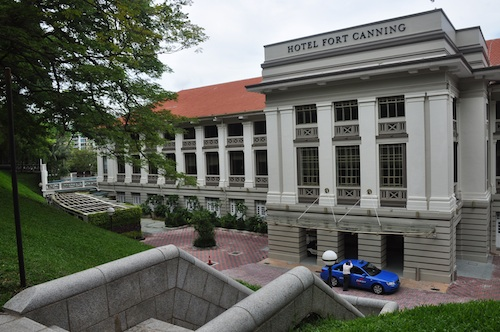 hotel in fort canning singapore
