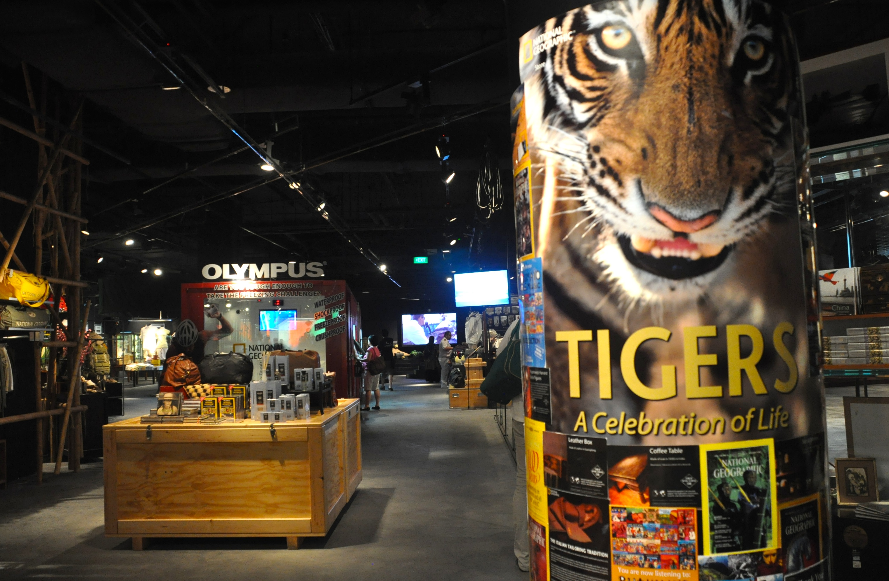 National Geographic Store in Singapore