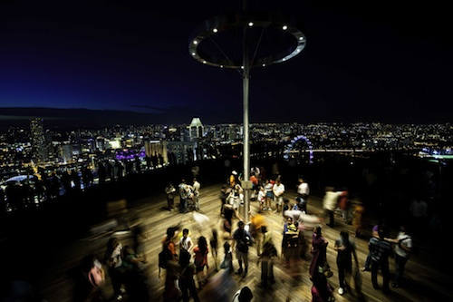 Nightlife at the SkyPark