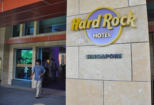 Hard Rock Hotel in Singapore