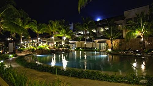 Boracay Garden Resort at Night