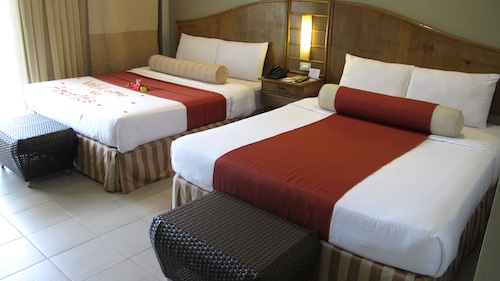 bohol hotel room