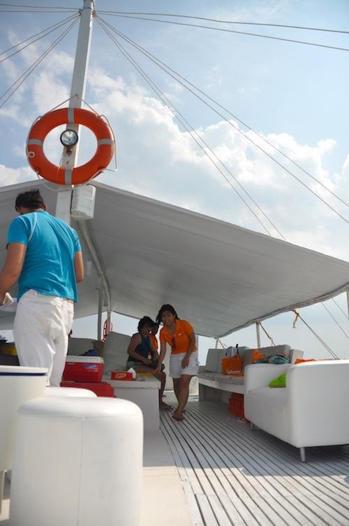 Islands Banca Cruise Staffs
