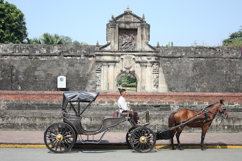 the new fort santiago