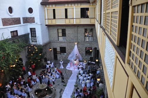 wedding in casa manila