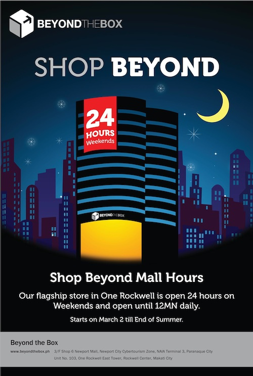 Beyond The Box now open 24 Hours