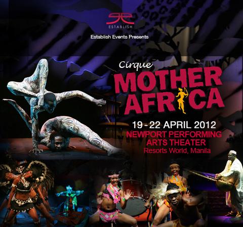 Cirque Mother (CircusMama) Africa Manila
