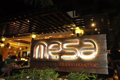 Mesa Filipino Moderne in Boracay
