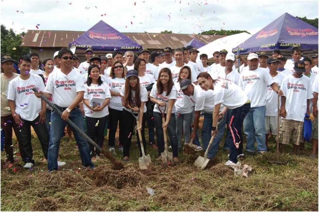 Groundbreaking Ceremony in Iloilo