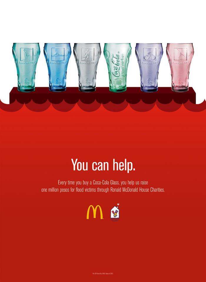 McDonald's Coca Cola Glasses