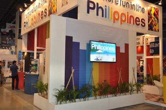 Its More Fun in the Philippines Booth