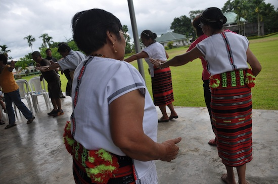 PHILTOA Officers dancing with the locals