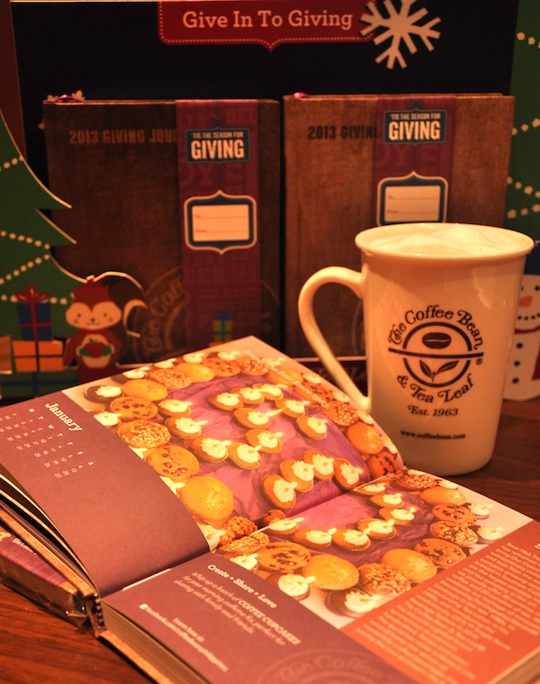 2013 Planners from Coffee Bean and Tea Leaf