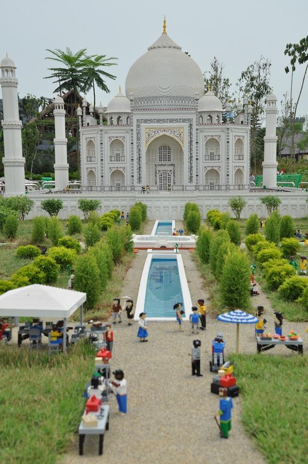 Taj Mahal in Miniland