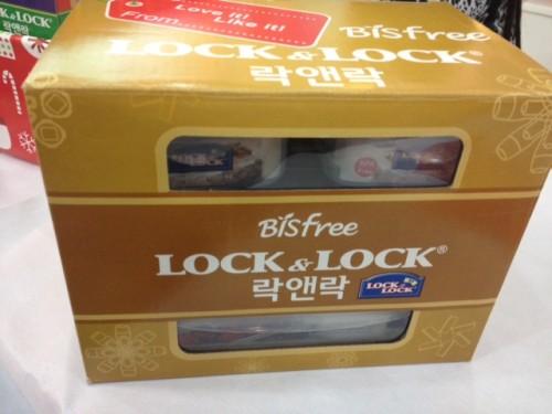 Lock & Lock Gift Packs