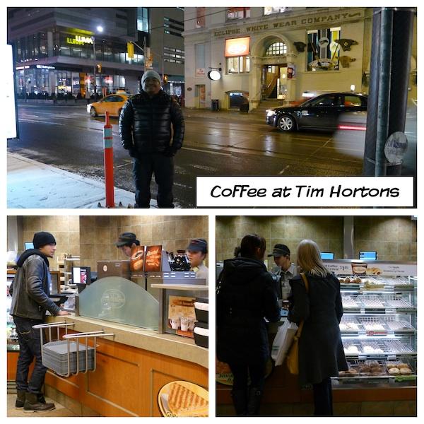 Coffee at Tim Hortons