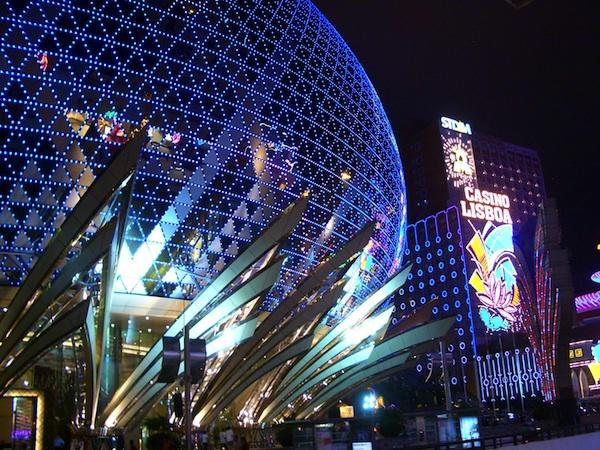 Macau Casino at Night
