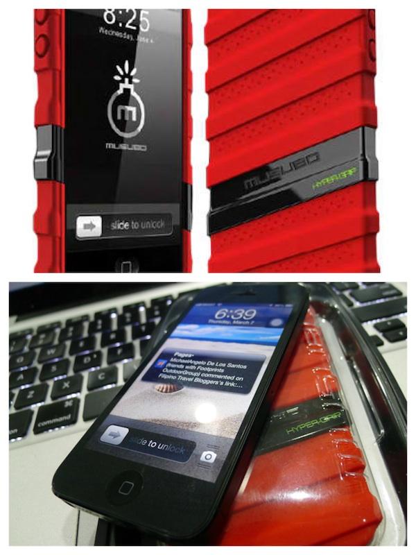 Musubo HyperGrip iPhone 5 Case