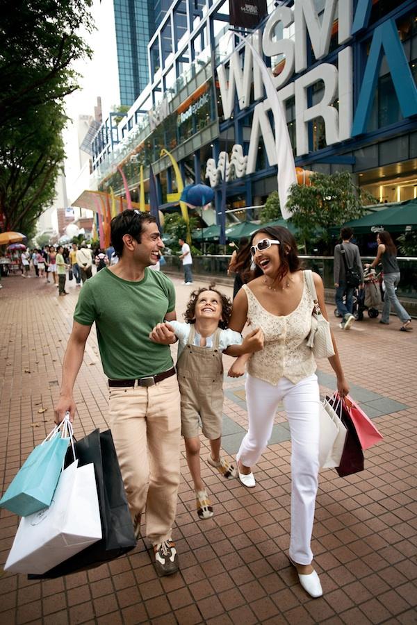 Shopping in Singapore
