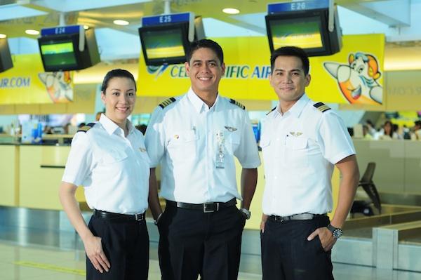 Cebu Pacific flight crew