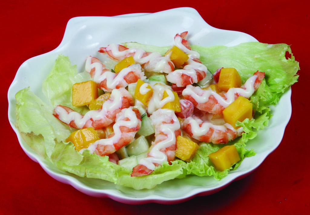Prawn Mango Cold Salad