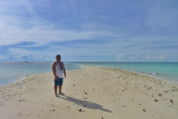 Melo Villareal in White Island