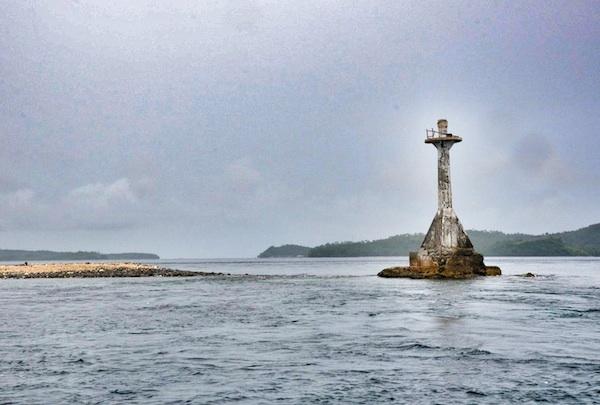 Lighthouse in Matnog