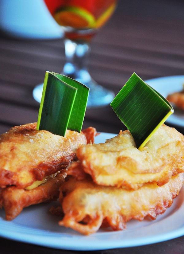 Maruya - Banana Fritters