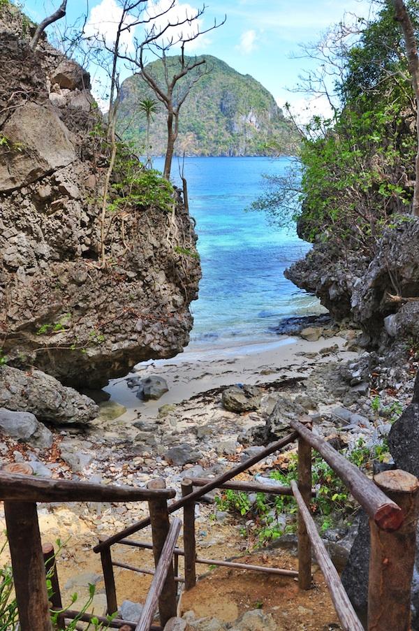 Secret Cove in Paradise Beach