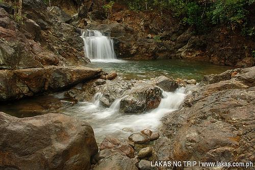 Dagubdob Falls in Sibuyan Island