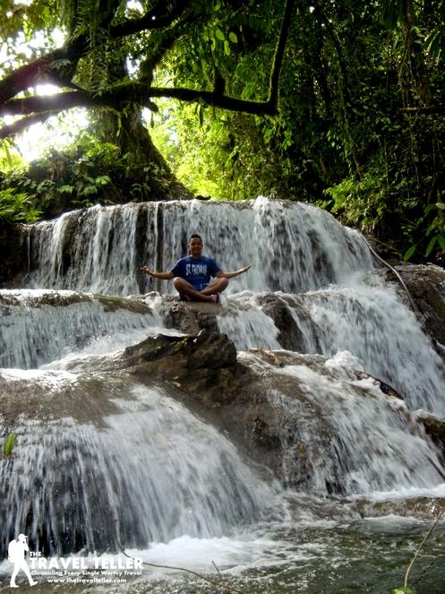Olan in Aliwagwag Falls