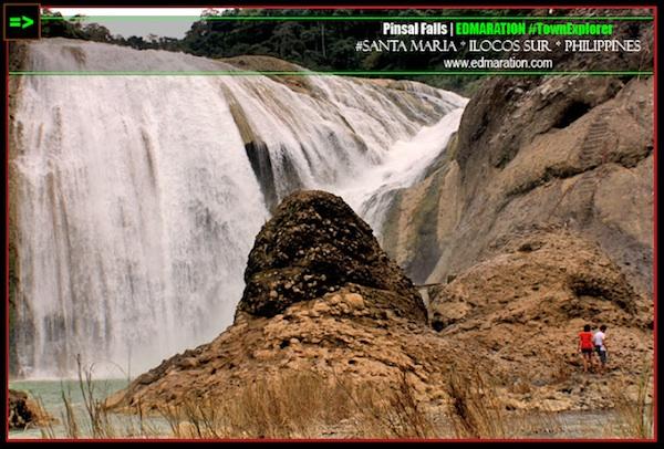 Pinsal Falls in Ilocos Sur