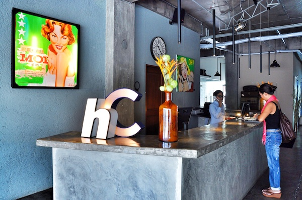 The Hotel Henry Front Desk