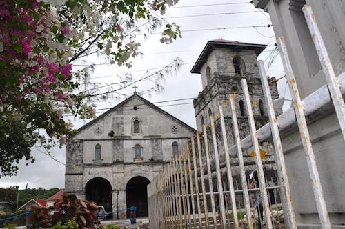 Baclayon Church in Bohol before the Earthquake