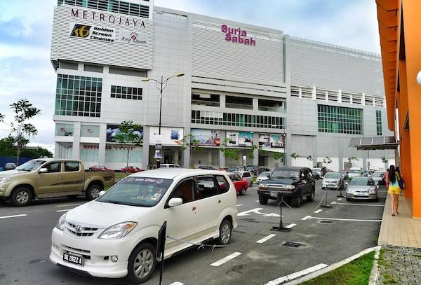 Shopping at Suria Sabah