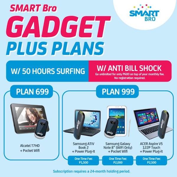 Smart Bro Gadget Plus Plans