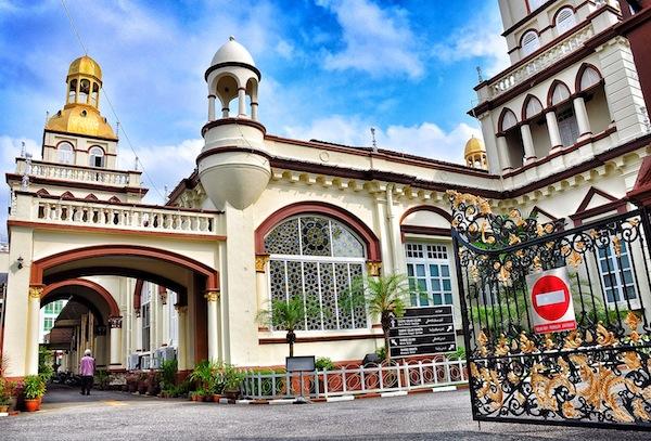 Al-Muhammadi Mosque in Kelantan Malaysia