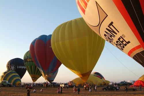Hot Air Balloon Fiesta in Clark Pampanga