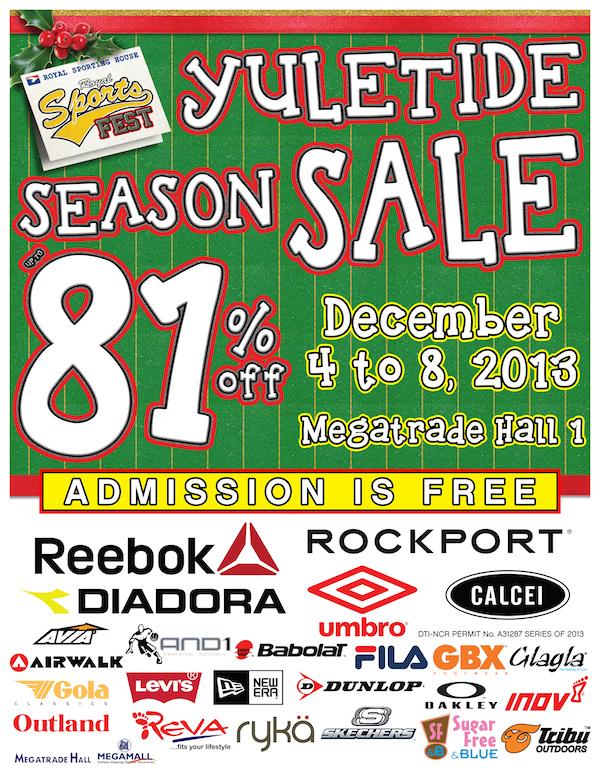Royal Sports House Yuletide Sale 2013