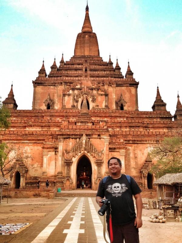Melo Villareal in Myanmar